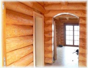 Ukázka dveří v domě a prostupů
