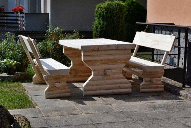 Na čem budeme na zahradě sedět?